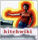 The first Hitchwiki logo